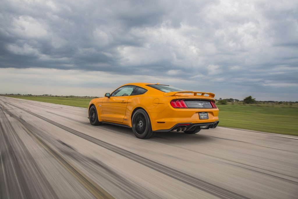 Hennessey Ford Mustang GT HPE800 Supercharged 20182018-Mustang-GT-Orange-2-1024x682