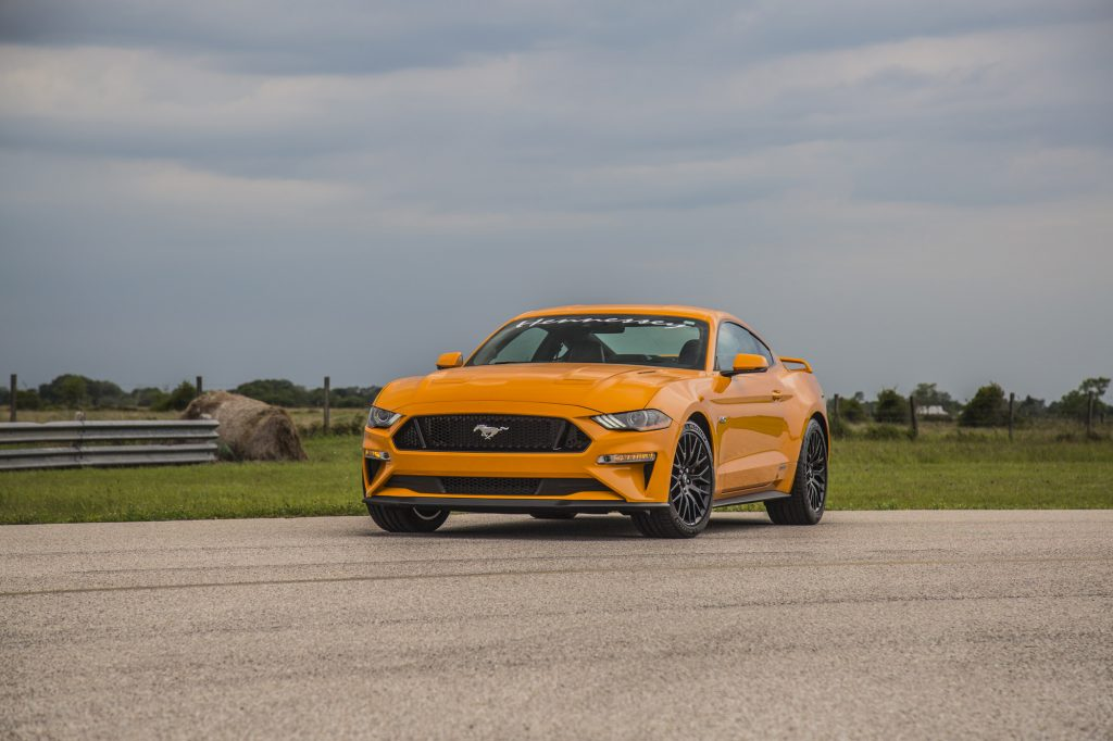 Hennessey Ford Mustang GT HPE800 Supercharged 20182018-Mustang-GT-Orange-3-1024x682
