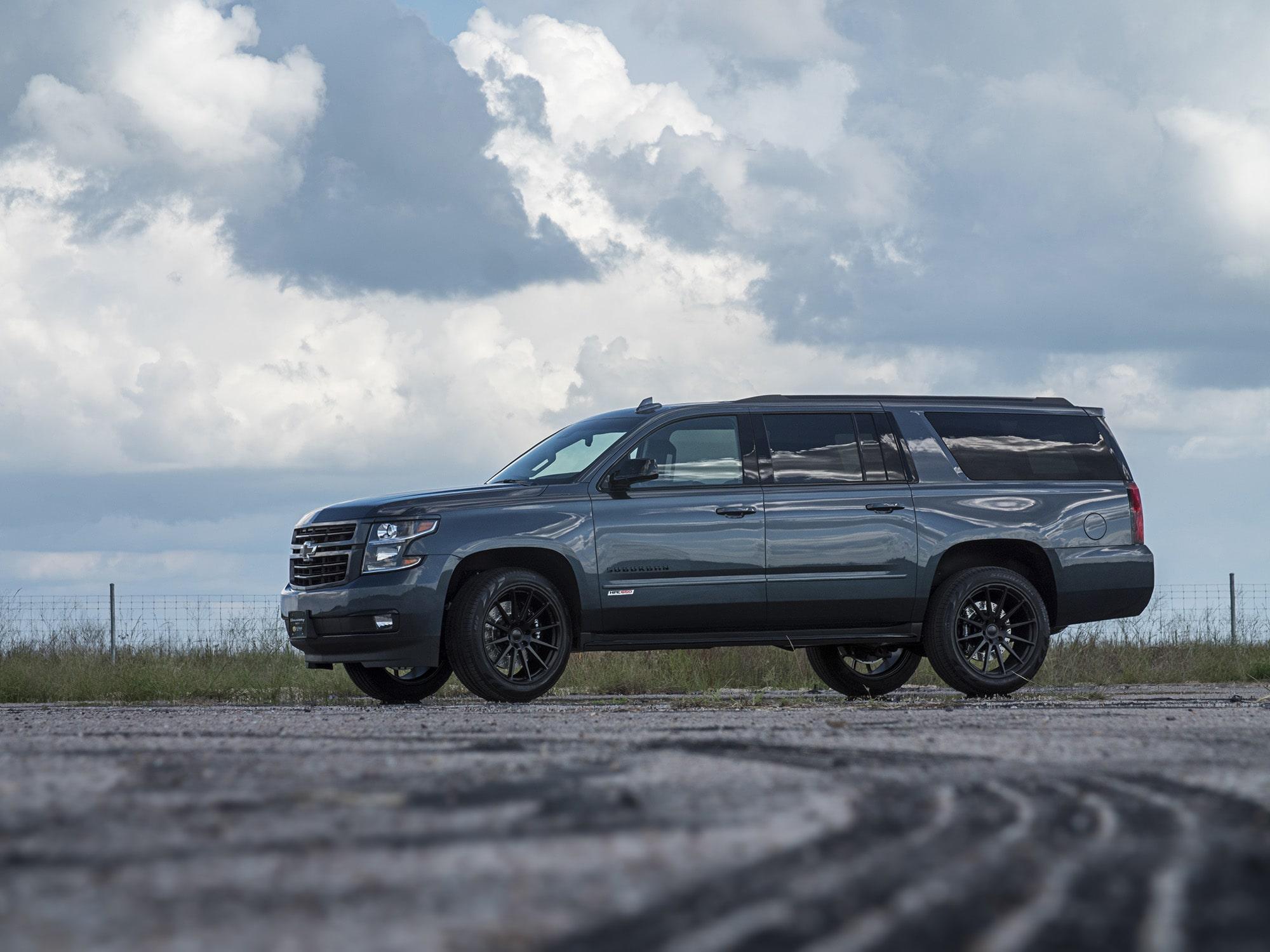 Hennessey HPE650 Chevrolet Suburban RST  2018 HPE650-2018-Chevy-Suburban-Dark-Blue-2-min