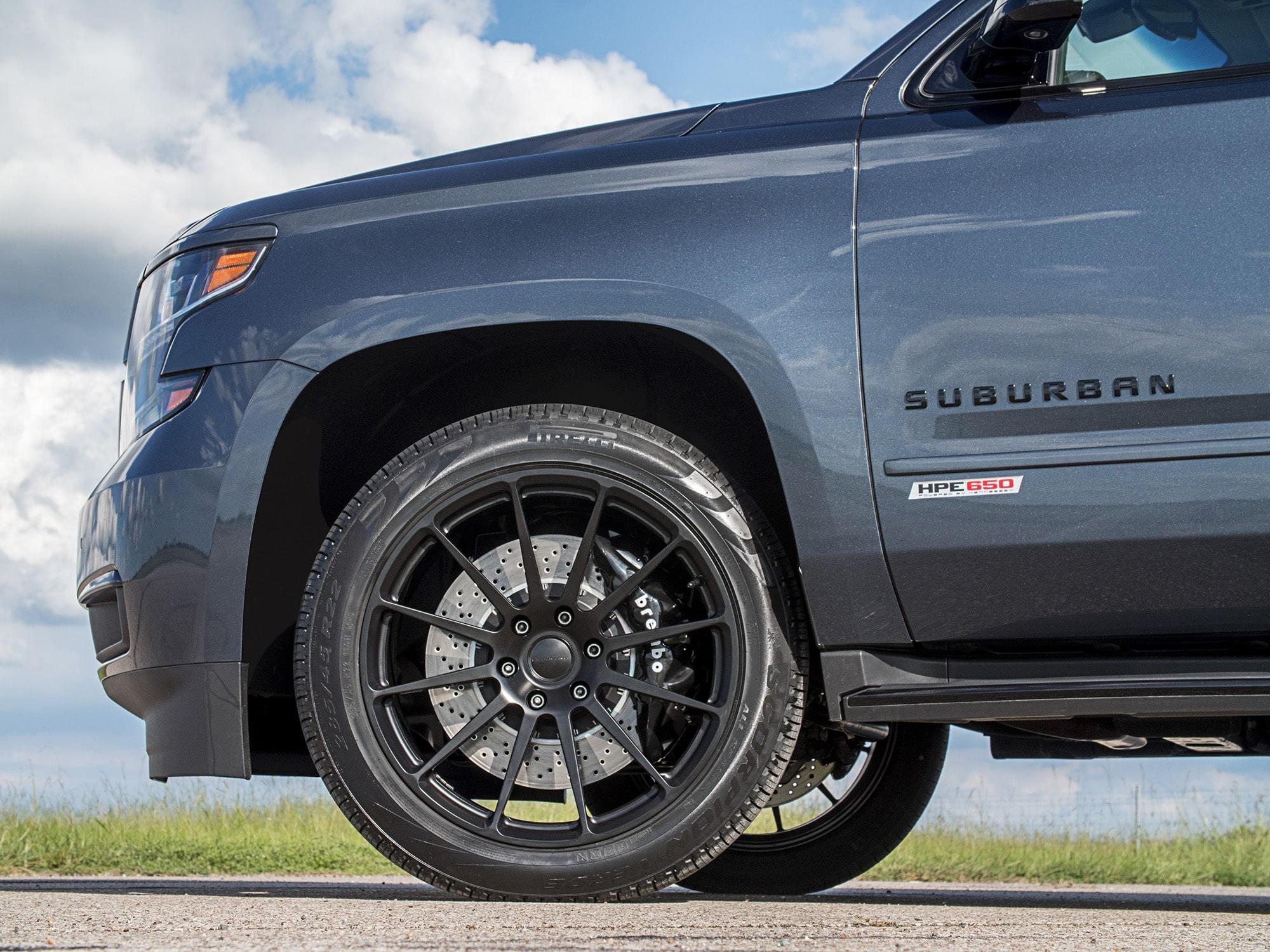 Hennessey HPE650 Chevrolet Suburban RST 2018 HPE650-2018-Chevy-Suburban-Dark-Blue-4-min