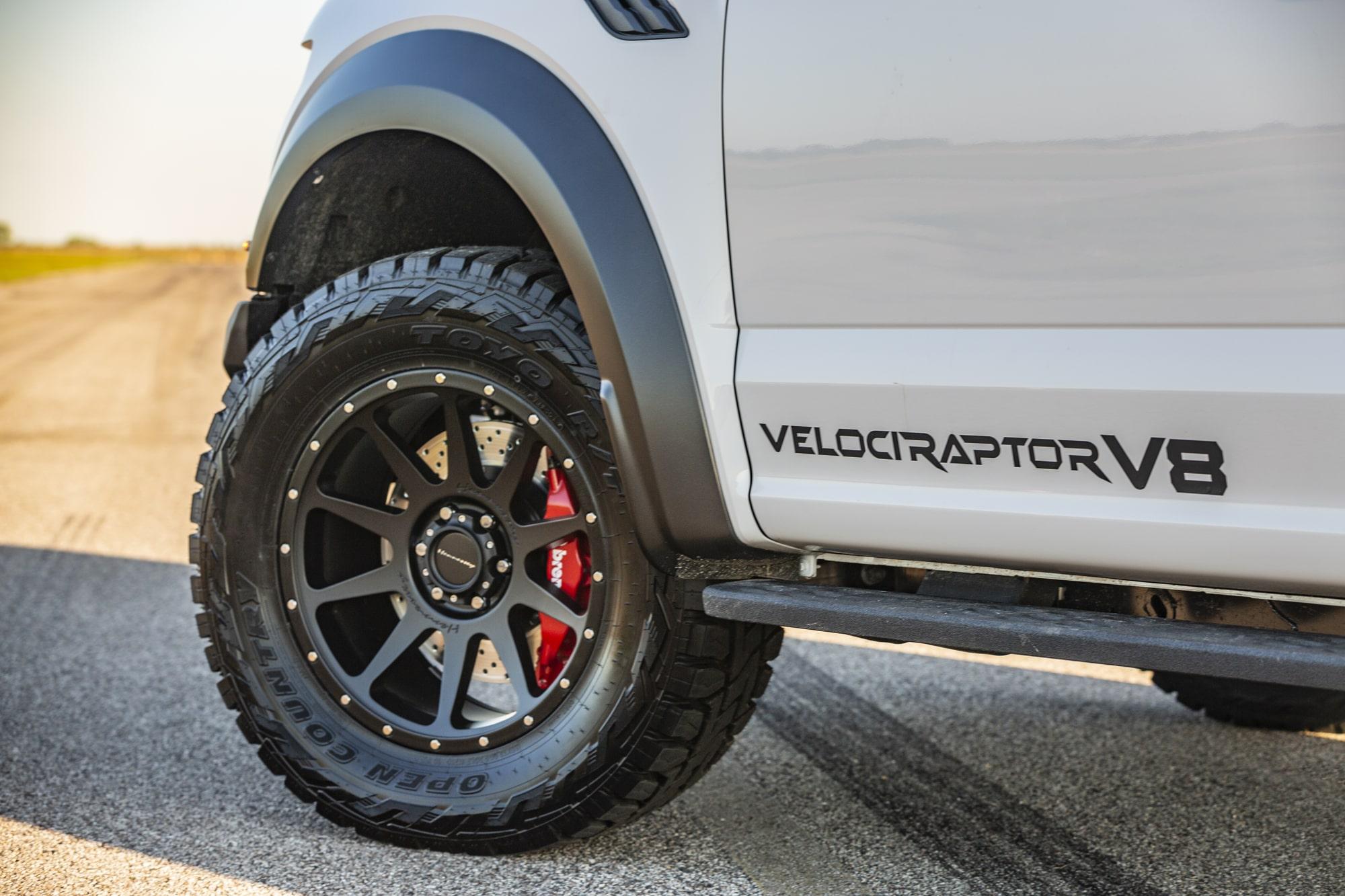 Hennessey Velociraptor V8 Conversion White 2019 Hennessey-Velociraptor-V8-White-Sunset_05-min