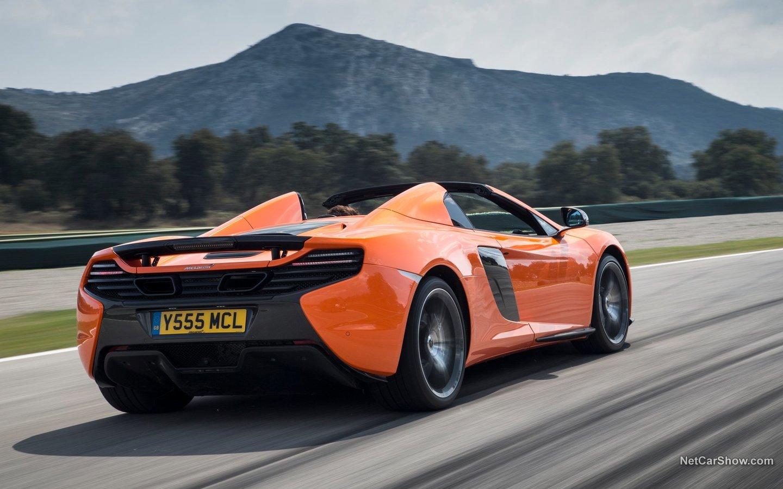 McLaren 650S Spider 2015 97f15336