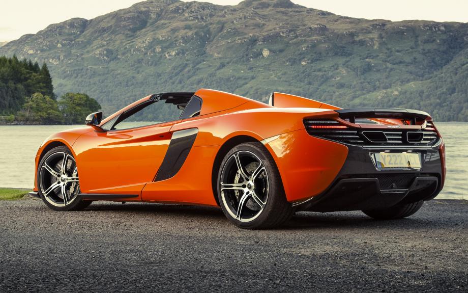 McLaren 650S Spider UK 2014 carpixel