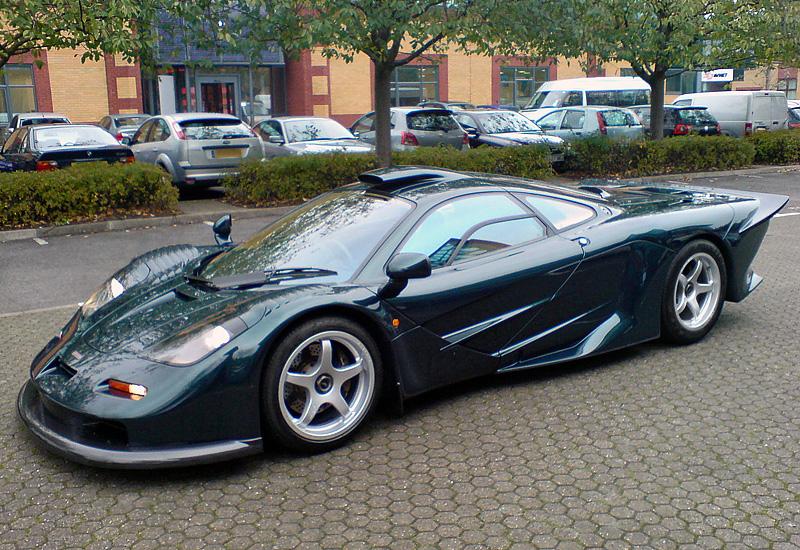 McLaren FI GT Longtail 1997 topcarrating com  1997-mclaren-f1-gt-longtail-street-car-56xpgt-prototype