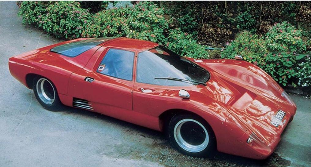 McLaren MP6GT 1969 cars