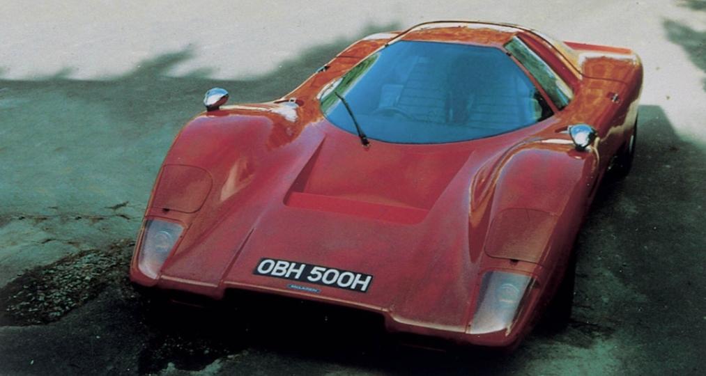 McLaren MP6GT Street Version 1969 cars