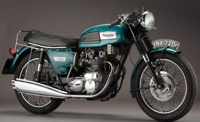 Triumph Trident T150 750 68 motorcyclespecs