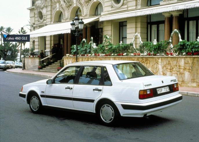 volvo 460 GLE 1989 media