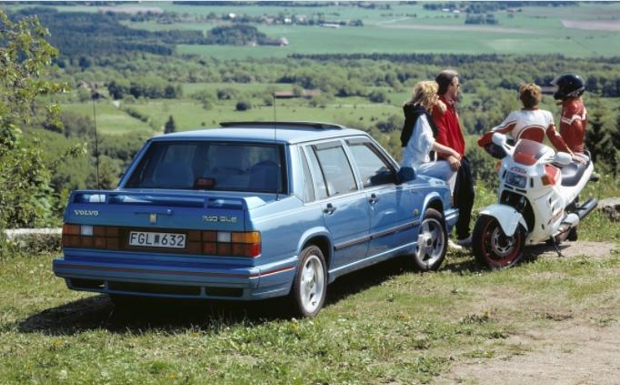 Volvo 740 GLE 1985 c