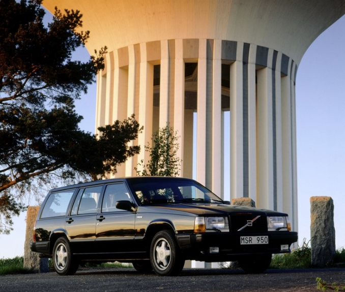 Volvo 740 GLE 1985 d
