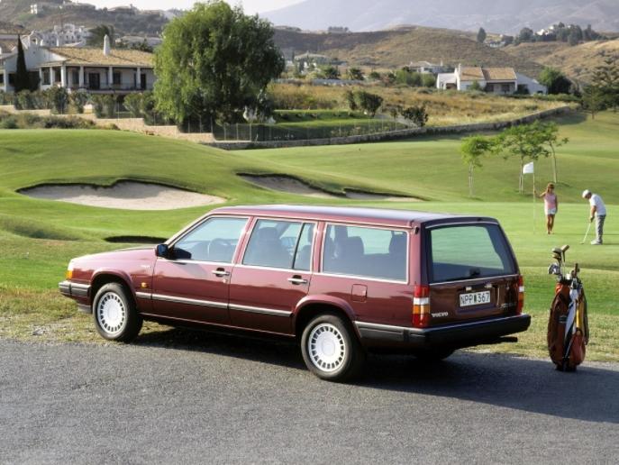 Volvo 760 GLE 1985 f