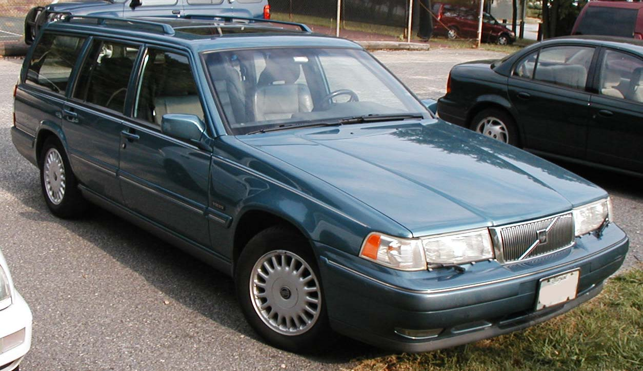 Volvo 960 Wagon 900-Series 1995 by IFCAR en