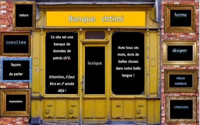 Banque   chtimi :   une banque  de mots chtis