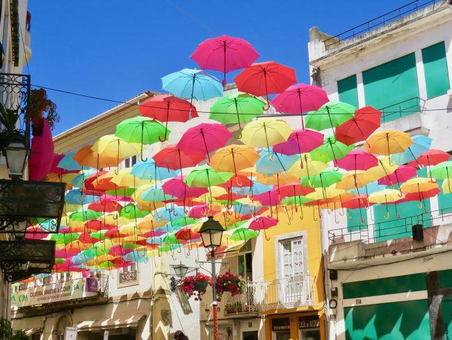 les parapluies d'Agueda