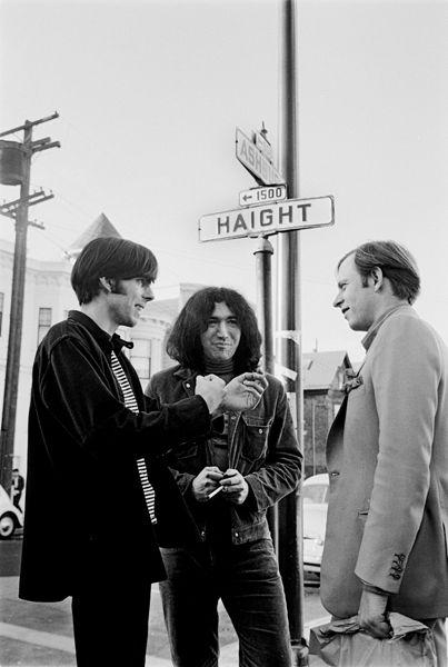 Jerry Garcia with Tom Wolfe