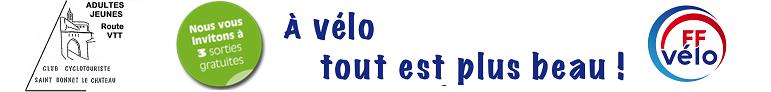 CLUB CYCLO-VTT de Saint Bonnet le Château