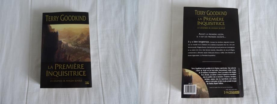 j'ai fini la lecture du roman de TERRY GOODKIND,un préquelle du cycle de l'épée de vérité,même si l'ecrivain reste toujours sur le même châpitre,en l'occurrence MADGA SEARUS,je suis surpris car la lecture de ce roman ne procure aucun ennui.trés bien écrit,l'histoire est belle,et surtout,cela va me permettre de commencer le cycle de l'épée de vérité en 15 romans+(les 2 préquelles que sont DETTE D'OS et LA LOI DES NEUFS) 17 romans de pure fantasy à acquérir venant de l'imagination de TERRY GOODKIND.je remercie bragelonne de nous traduire des romans d'une telle beauté.