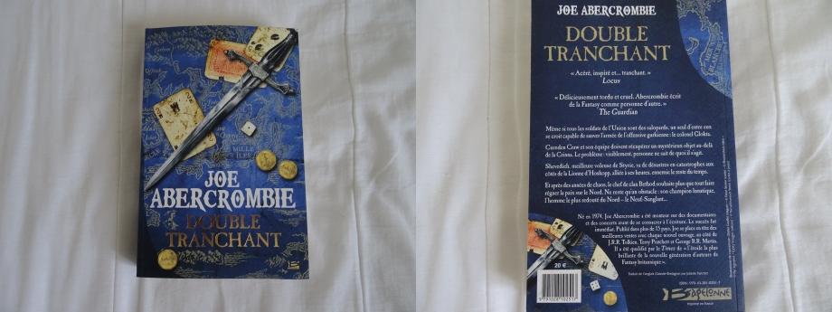 Rien à dire sur ce nouveau roman de JOE ABERCROMBIE,c'est beau,c'est prenant,c'est fantastique même si,ce bouquin est parfois difficile à aborder à la première lecture comme toujours chez cet auteur,on ne s'ennuie nullement lors de la lecture.De plus,on retrouve les héros sur certains chapitres du roman SERVIR FROID du même écrivain (MONZCARRO MURCATTO/CORDIAL/NICOMO COSTA etc...) c'est vraiment fabuleux ce retour en arrière D'ABERCROMBIE.