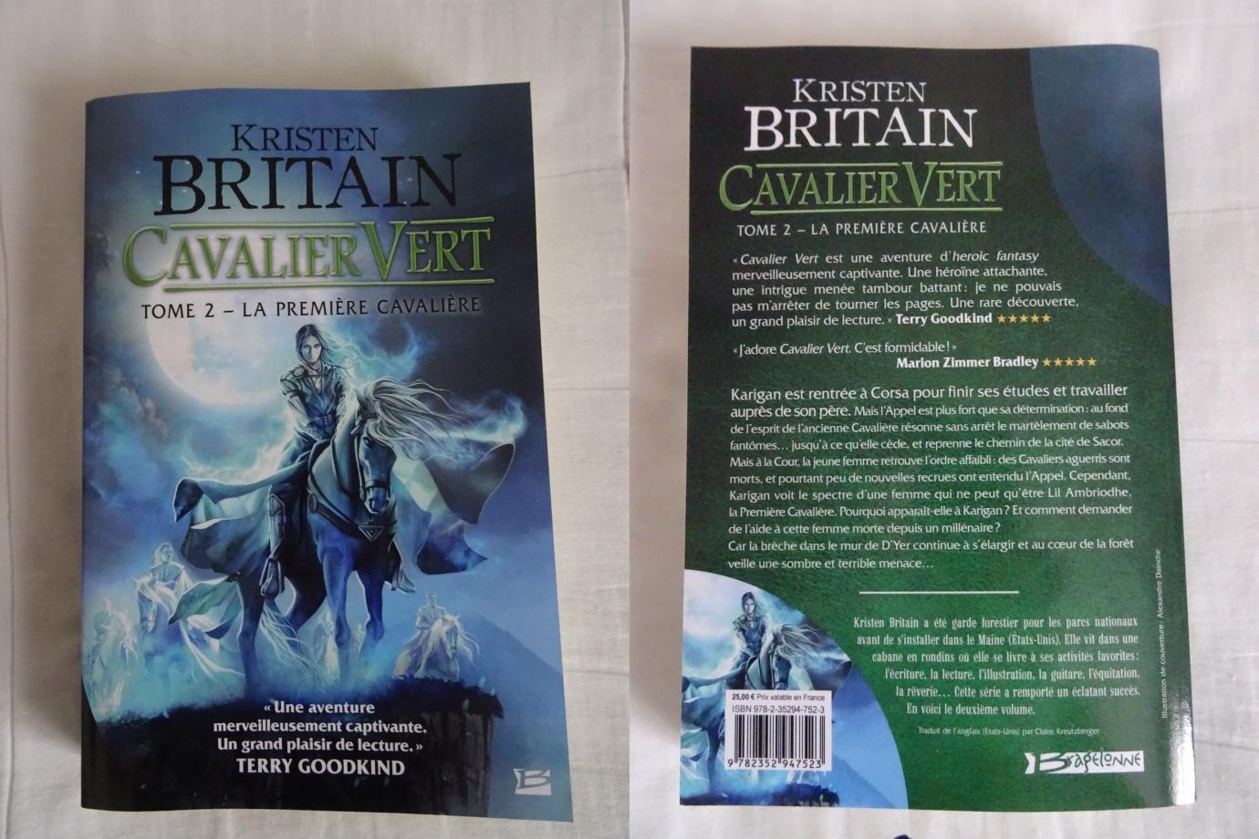fin de la lecture du deuxième tome,dans la continuité du premier volume.l'histoire des cavaliers verts est vraiment captivante et passionnante.allez,je me mets en selle pour aborder le tome 3.