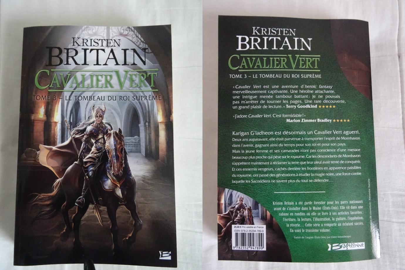 ce qu'il y a d'extraordinaire avec l'histoire des cavaliers verts,plus j'avance dans la lecture et aucune lassitude,aucun ennui ne se produit au fur et à mesure des tomes abordés.une très bonne surprise.
