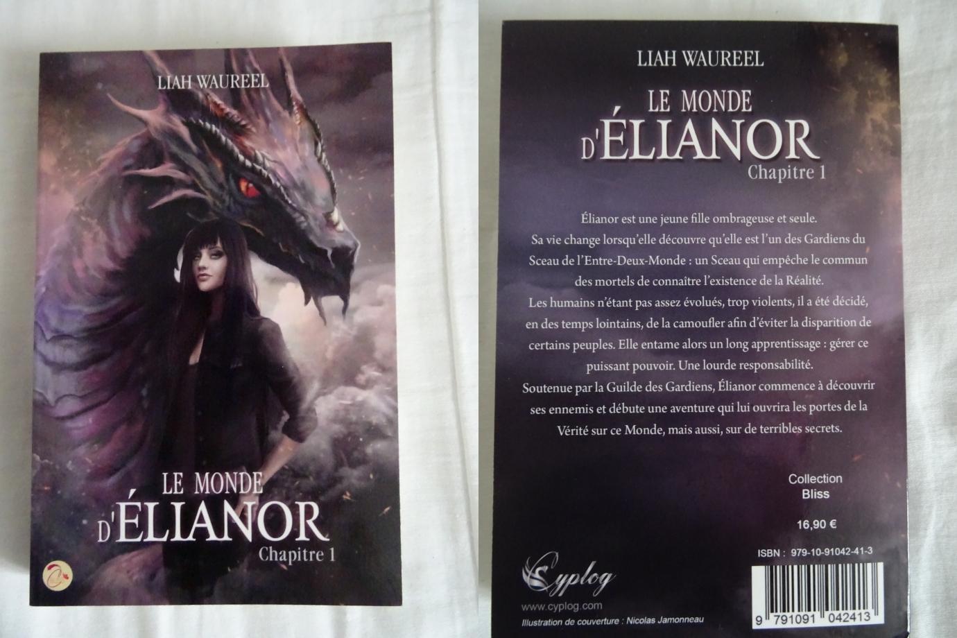 une très bonne surprise que ce roman,même si l'éditeur n'est pas très connu (CYPLOG) ainsi que l'auteur (LIAH WAUREEL),je suis content d'avoir pu découvrir cette belle histoire que ces 4 personnages et leurs dragons vraisemblablement les héros du monde d'élianor,possédant les pouvoirs du feu,de l'air,de la terre et de l'eau en tachant de les maitriser,situé quelque part entre fantasy et notre siècle(une originalité) cette aventure est bien imaginée,j'ai adoré ce premier chapitre même si le tome est un peu court(248pages) ça reste captivant pour tout amateur de fantastique d'autant plus,vu comment se termine la fin,il devrait logiquement y avoir une suite.un très bon moment de lecture,beau et magnifique à la fois.