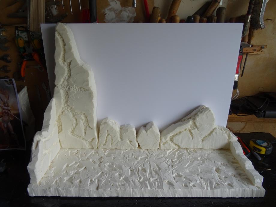 Deuxième diorama en réalisation !!