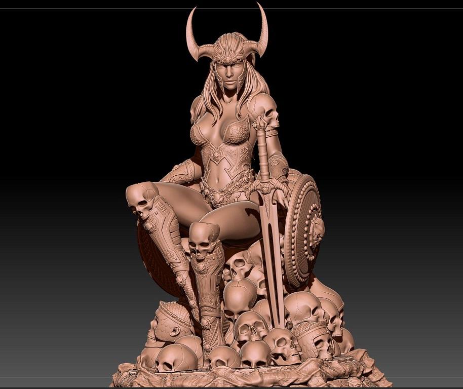 SARIAH (déesse de la guerre)