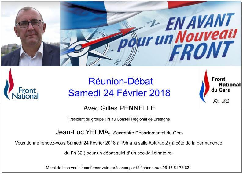 Soire Dbat Organise L Occasion De La Venue Gilles PENNELLE