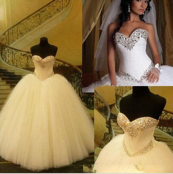 2019-formal-ball-gown-wedding-dresses-sequins - la nouvelle robe de mariée de la webmistress move and be trance