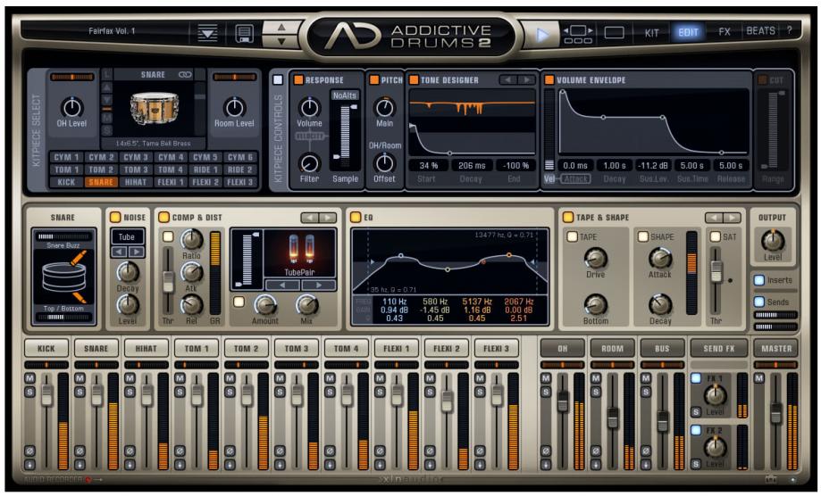 Addictive Drums 2 XL