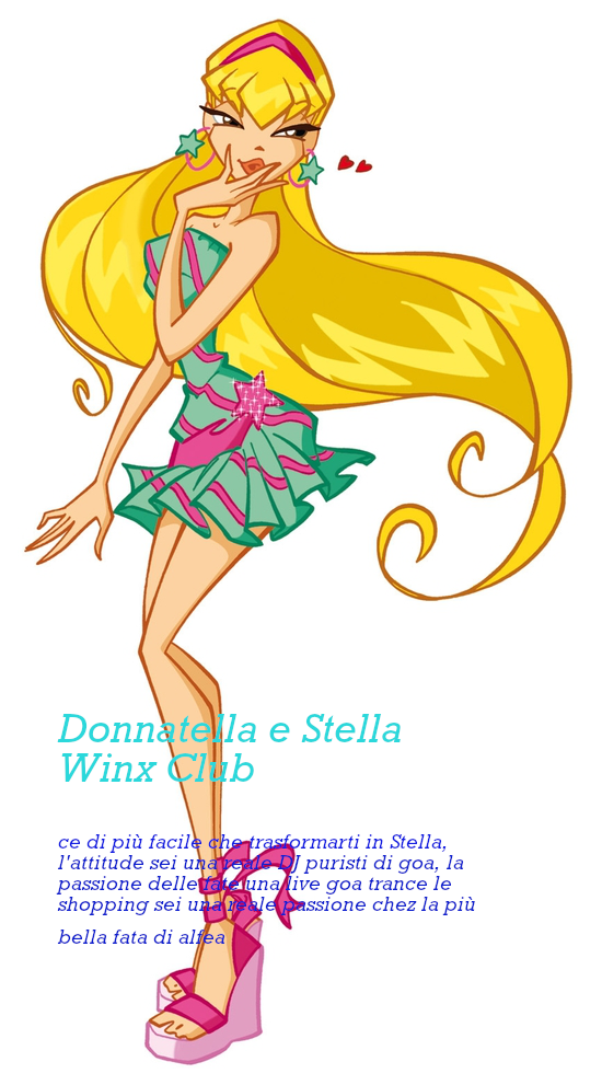 donnatella e Stella Winx Club