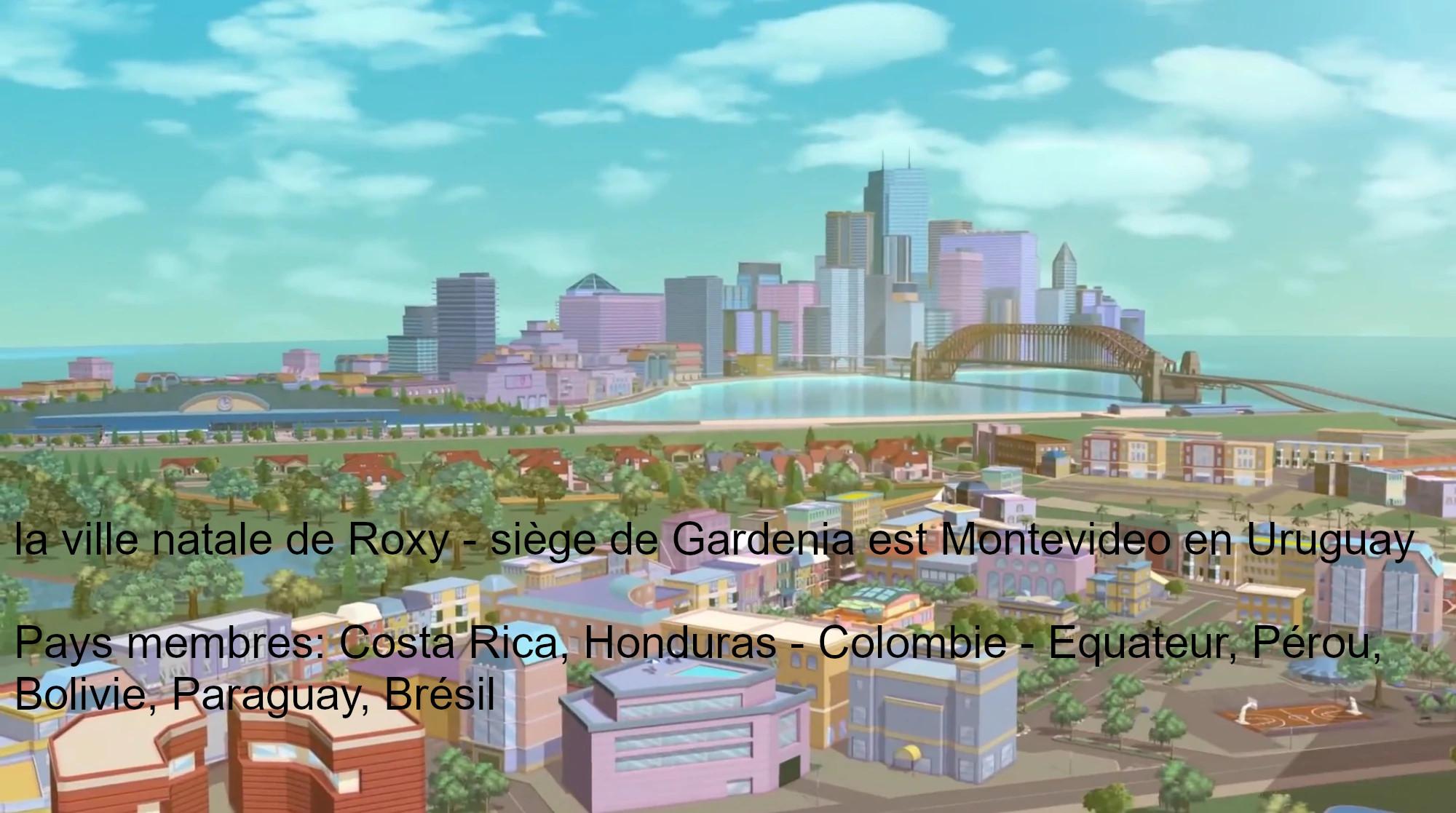 Gadenia ( Costa Rica, Colombie, Honduras, Brésil, Paraguay, Uruguay, Bolivie, Pérou )