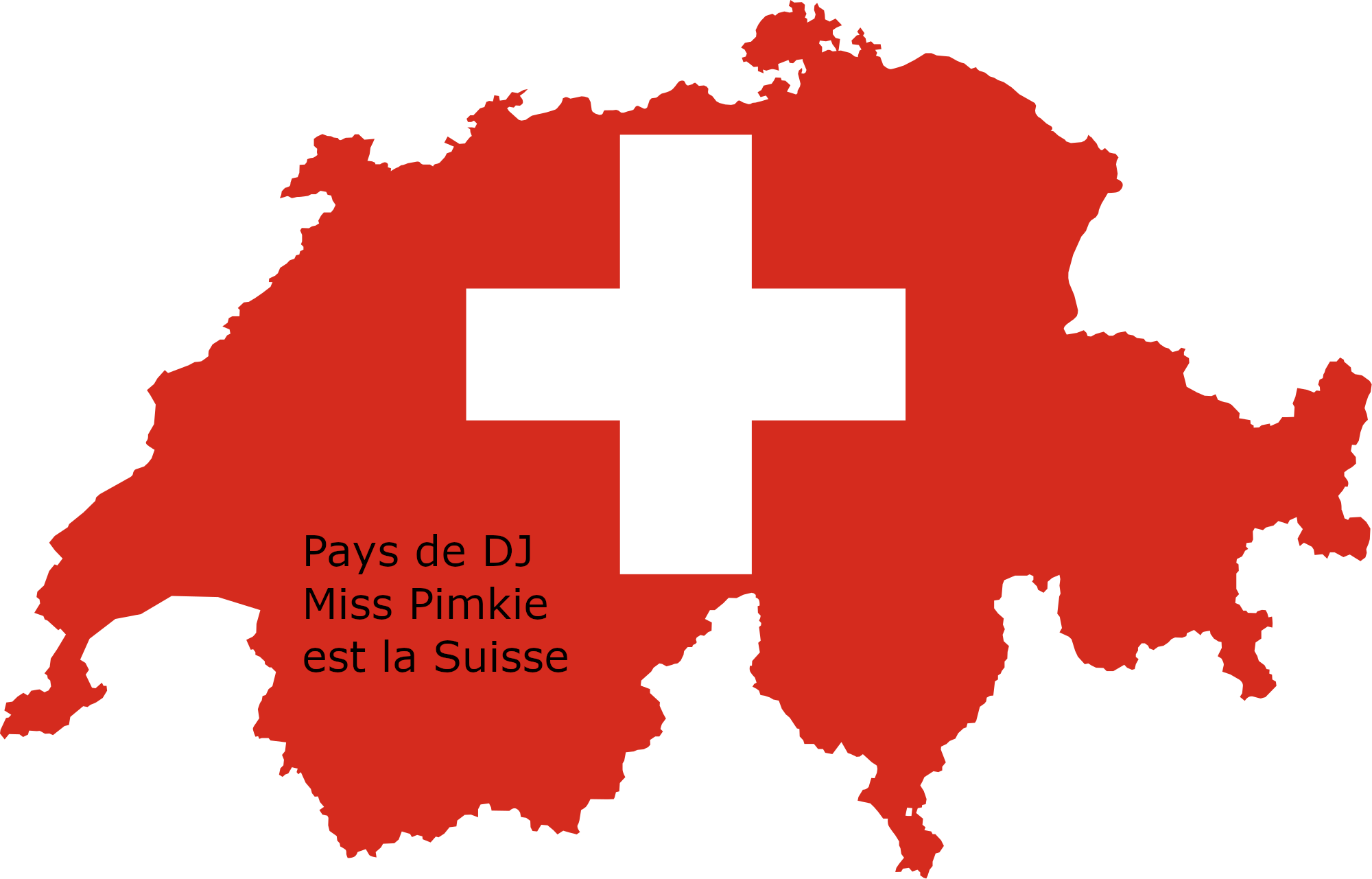 la suisse est le nouveau pays de DJ Miss Pimkie