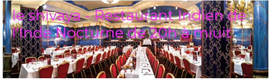 le restaurant indien de l\\\'Inde - le  Ganesha