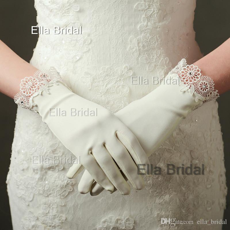 new-design-short-ivory-satin-bridal-gloves