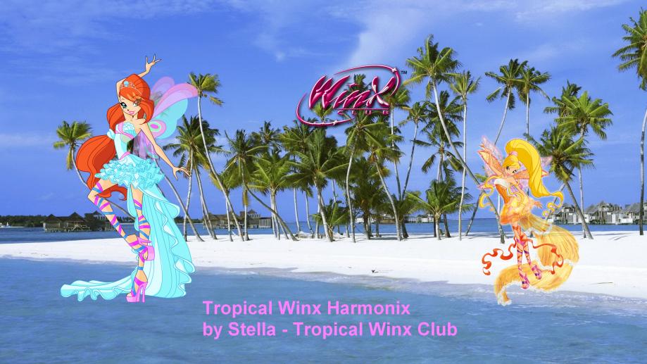 new tropical harmonix Winx Club