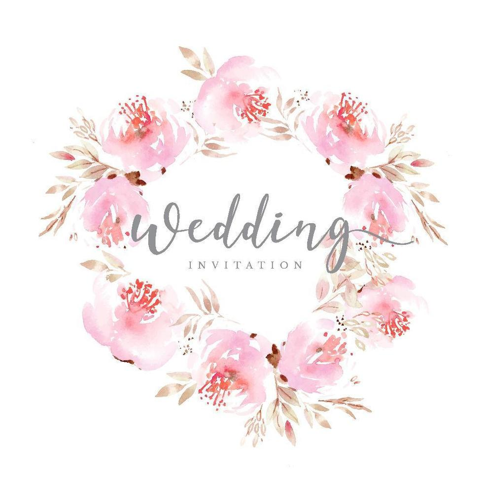 pink-floral-wedding-wreath-vector