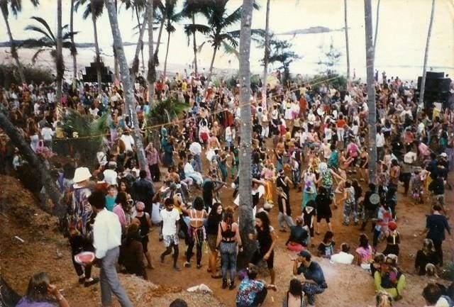 l'ambiance de goa pour alfea - l'école pour aspirantes fées de magix est 4 km de la plage