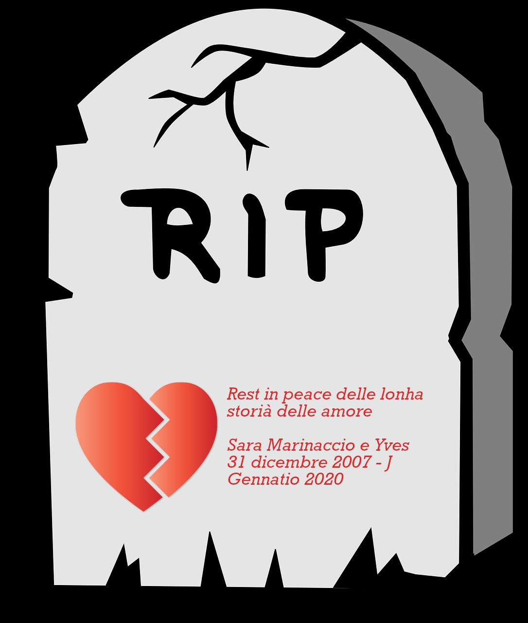 RIP Sara e Mio