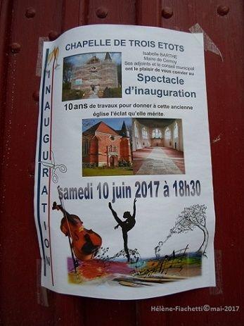 Cette photo à été prise le 27 mai 2017 à Trois Etôts. (Oise-Picardie)
