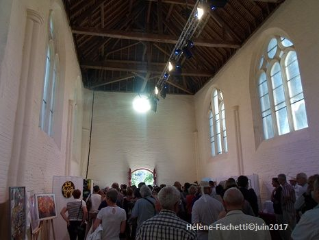 Photo prise samedi 10 juin 2017 à Trois Etôts. (Oise-Picardie)