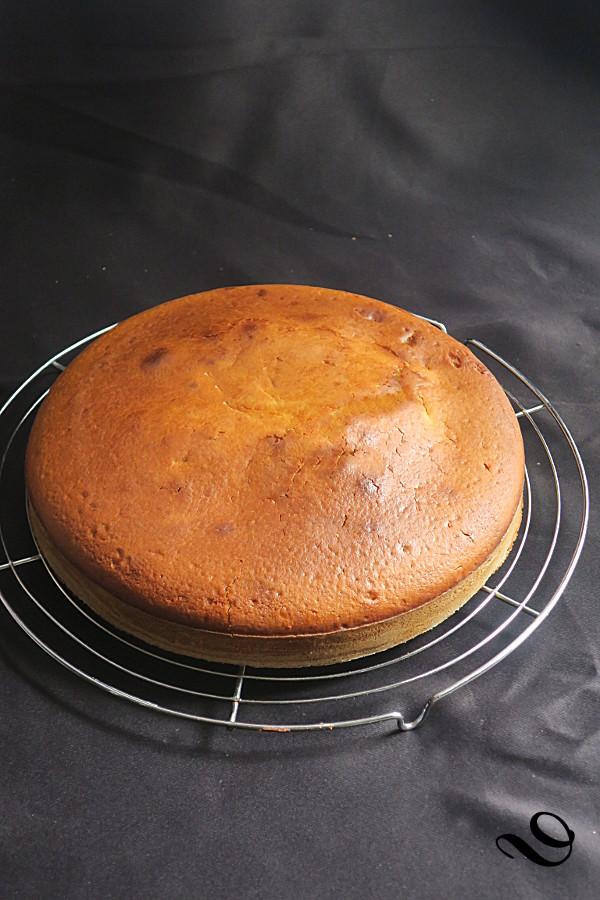 Cake Leger Au Fromage Blanc Du Pain Sur La Planche Ou Nourrir