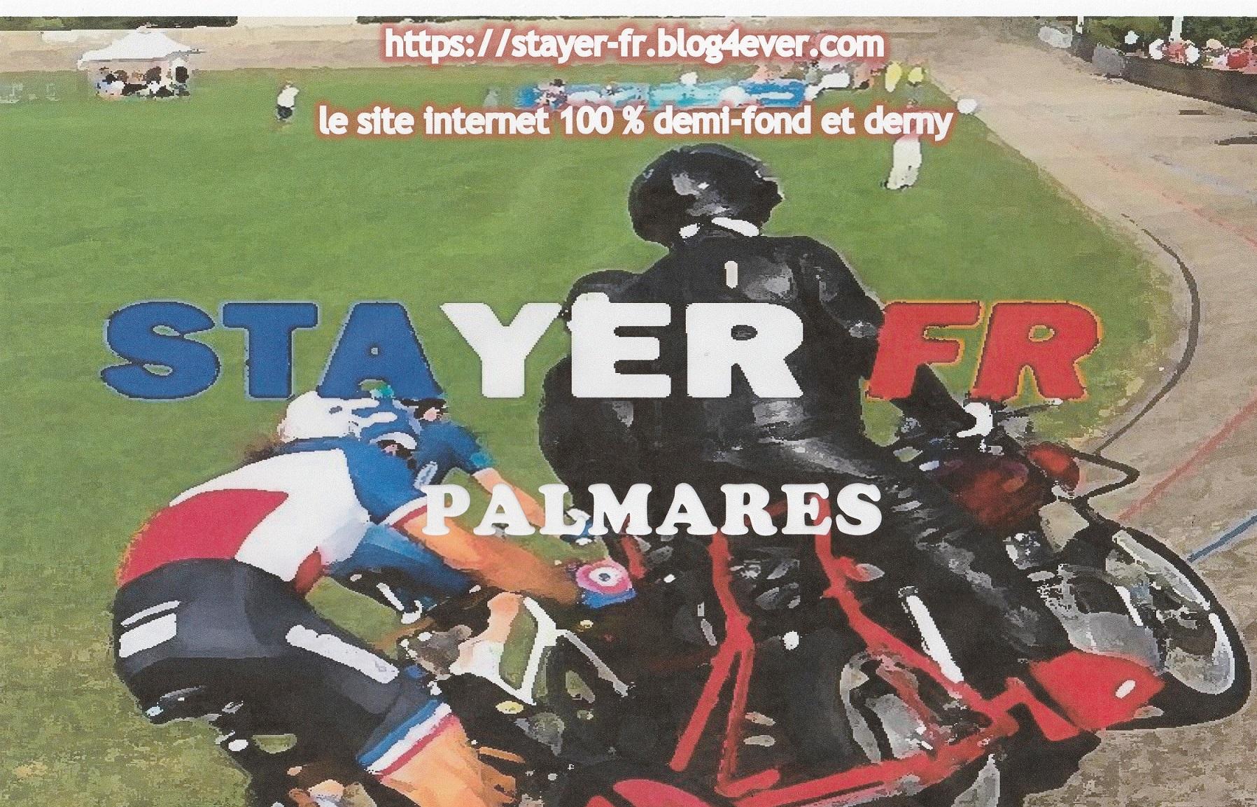 STAYER-FR PALMARES