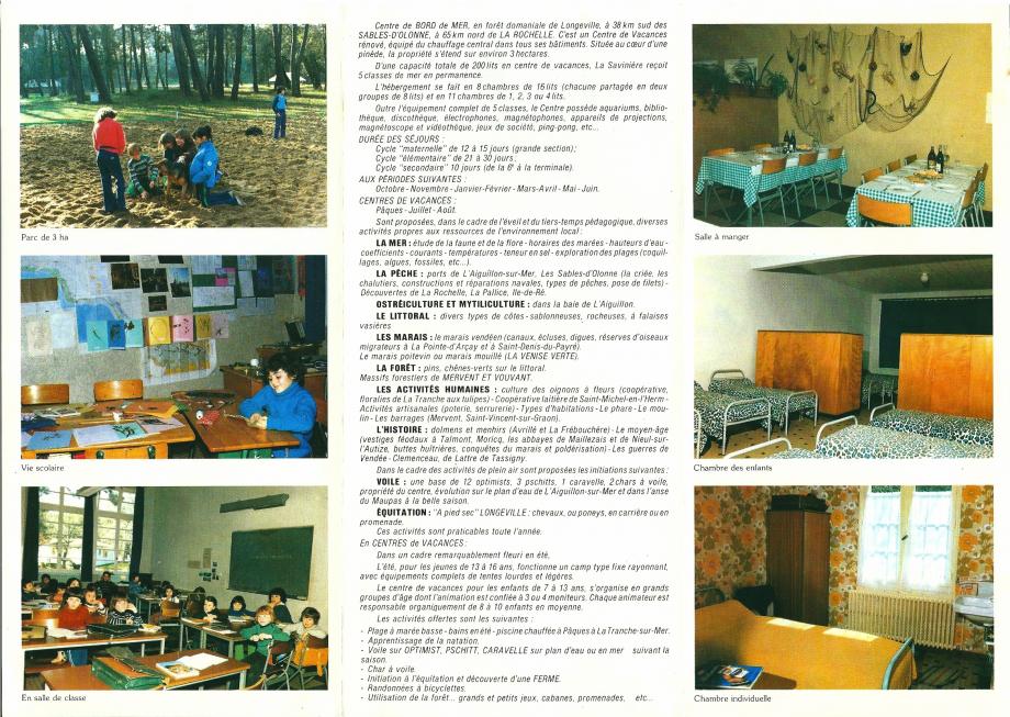 1983-Dépliant La Savinière