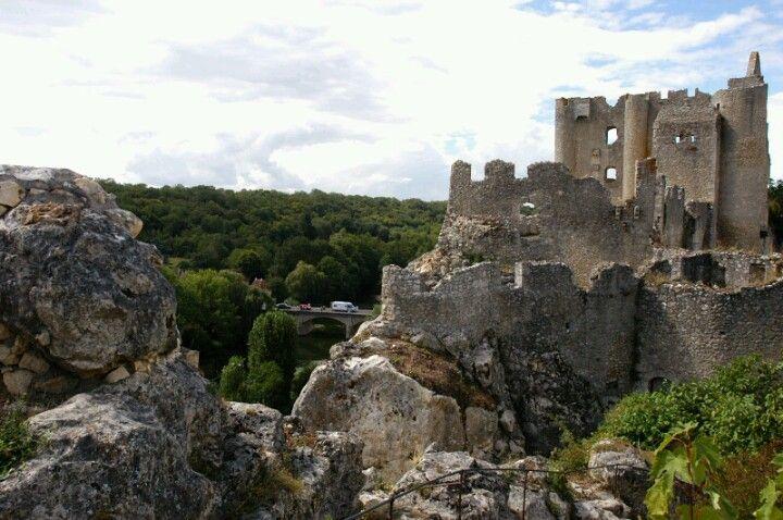 Chateau de Lusignan-ruines