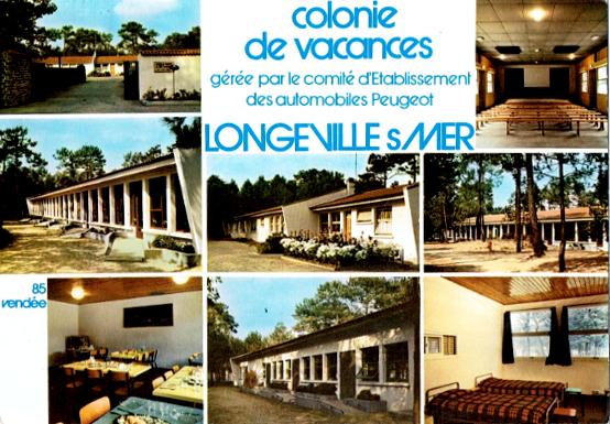 Colonie Peugeot Les Conches Longeville
