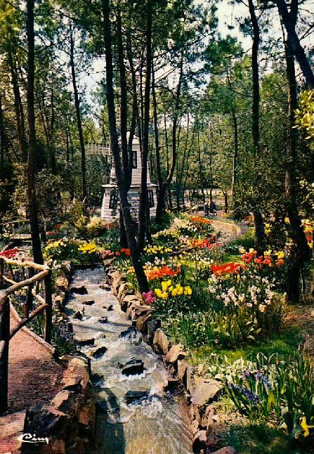 Le moulin et la cascade