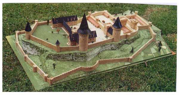 Maquette chateau de Lusignan