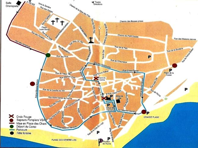 Parcours 2001