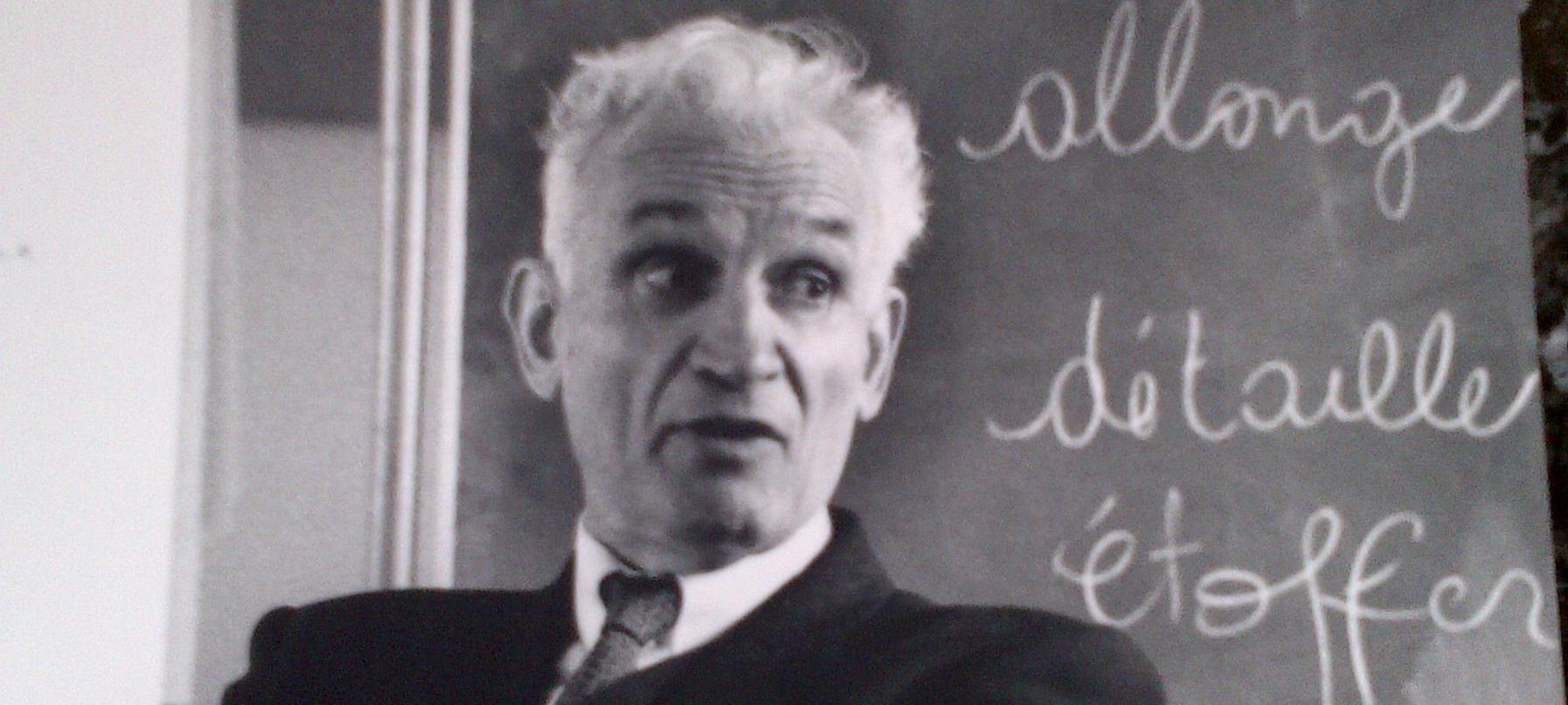 La Pensée d'Antoine de La Garanderie (1920-2010)